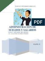 Administracion sueldos y salarios