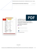(PDF) Antennas and Wave Propagation Multiple Choice Questions Unit-1_ Antenna Basics _ Ravi Kumar - Academia.edu