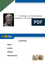 TECNICAS DE COSTOS