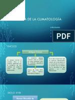 Historia de La Climatología