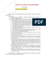 Résistance Et La Franc-maçonnerie (Paul Quader, 2013)