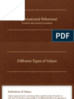 Different Types of Values