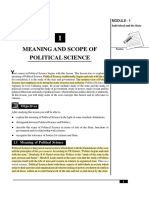 1_Meaning and Scope of Political Science (105 KB)