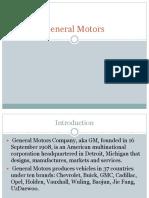 Ppt General Motors