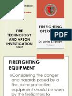 Firefighting Operations