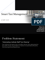 Taxi Management System