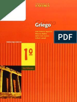 Balme Maurice Lawall Gilbert Griego I Dialecto