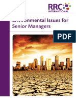 Environmental Issues for Senior Managers