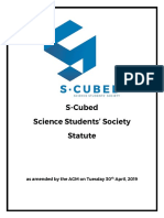 s-cubed statute as amended by agm 2019