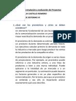 Trabajo de Formulación y Evaluación de Proyectos
