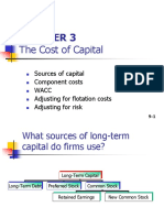Ch 03 -Cost of Capital