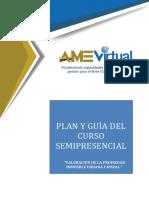 Plan y Guía Del Curso Valoración de La Propiedad Urbana y Rural( en Construcción )