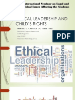 Ethical Leadership and Child's Rights