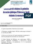 La caractérisation de la résistance à la gentamicine chez les souches épidémiologiques d'Eteroccocus faecalis résistants à la vancomycine