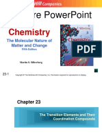Transition Metals and Coordination Compounds