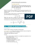 Manufacturing Economics
