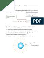 Ejercicios resueltos Cálculo del potencial eléctrico