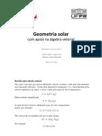 Geometria Solar
