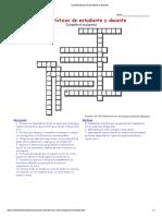 Características de Estudiante y Docente Sin Resolver (2)