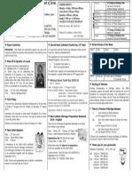 Shc English Bulletin