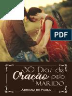 30 dias de oração pelo marido