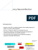 Emergency Neuroinfection
