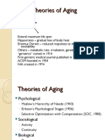 theories of ageing