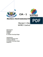 Wipro Project