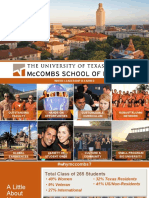 Texas McCombs Information Session Fall 2017.Pptx