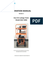 Duct Air Leakage Tester 6900