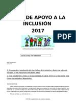 plan de apoyo para la inclusión
