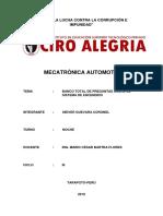Cuestionario Del Sistema de Encendido VOLUMEN 3 ETAPA 2