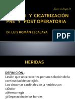 1.Heridas y Cicatrizacion Pre y Post Operatoria
