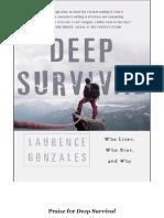 Deep Survival