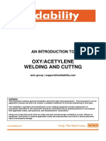 An Introduction to Oxy Acetylene Welding and Cutting