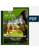 Plan Urbano Distrital de San Isidro 2012-2022 Versión Final