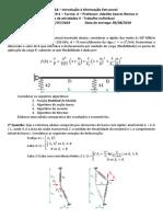 otimização estrutural - lista 1