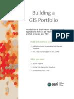Building a Gis Portfolio