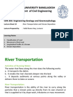 Lecture Sheet 10 River Transportation and Stream Deposition Edited KAT