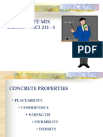 CONCRETE MIX DESIGN ACI 211 - 1ija.ppt