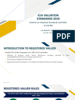 ICAI Valuation Standards