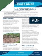 Deforestation-Forest Degradation Issues Brief Final
