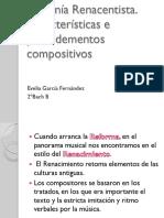 La Música de La Reforma y Contrarreforma