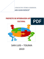 Proyecto Cultural 2019