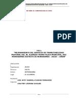 INFORME de COMPATIBILIDAD - Servicio de Transitivilidad