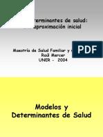 modelos y determinantes de salud