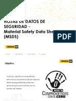 Hoja de Datos de Seguridad