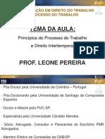 Aula 02 Prof. Leone Pereira Da Silva Junior 16-08-2018 Pos Aula