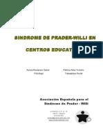 Síndrome de Prader Willi en centros educativos