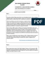 1o. Examen Diagnóstico. Lengua Materna. Español i.pdf · Versión 1